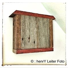 A door bell chime cover I made from rustic reclaimed barn wood. http;//www.henryfoto.com #rustic #upcycled #wood #reclaimed