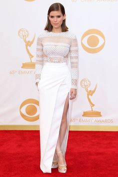 Kate Mara wearing J. Mendel