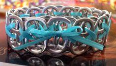 CrissCross Coke Tab Bracelet by shaneaster on Etsy, $5.00