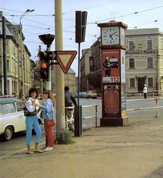And finally an indication of why this cross-roads is called Adler. I haven't been back to check, but I think the Goldener Adler in this picture has long gone. East German Car, Rda, Ddr Museum, East Germany, Vintage London, Life Pictures, Cold War, The Past, Street View