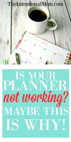 Have you tried working with a planner, calendar, or list type system and haven't had much luck? You could be making one of the mistakes I made. Read more! via @www.pinterest.com/JenRoskamp