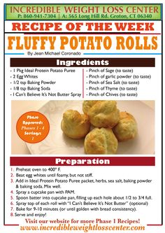 Fluffy Potato Rolls