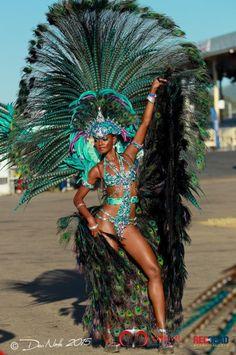 model Soowan Bramble in Trinidad