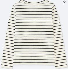 3ecb983ad Uniqlo Women Striped Boatneck T-Shirt Fall Capsule Wardrobe, Work Wardrobe,  Uniqlo Women