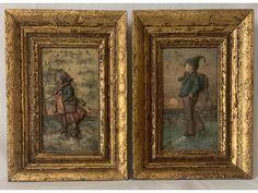 <p>2 ks<br />litina s polychromií<br />výřez 11 x 20 cm<br />celkový rozměr 22,5 x 31 cm<br />19./20. století</p> Painting, Design, Art, Craft Art, Paintings, Kunst, Gcse Art, Draw