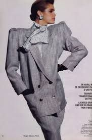 Image result for 80's fashion shoulder pads