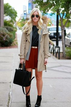Fall Must-Have: Trench Coat #outfit #blogger #katalinagirl