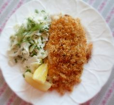 The English Kitchen: Crispy Baked Chicken for Two, with Fennel Slaw