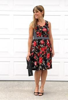 Easy Swing Dress Tutorial | This easy dress tutorial is perfect for any season!