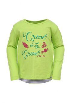 Лонгслив Tom Tailor для девочек. Цвет: зеленый. Сезон: Весна-лето 2014. С бесплатной доставкой и примеркой на Lamoda. http://j.mp/1o8n1Jq
