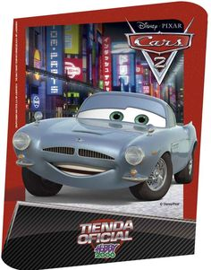 Uno de los colgantes diseñados para Hobby 2000 para la promoción de la pelicula Cars 2