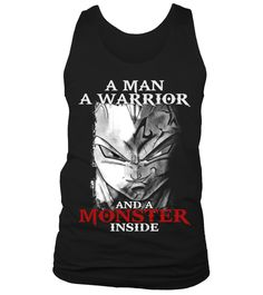 # A Man A Warrior A Monster Inside T-Shirt .  Going to an Ugly Christmas Party this year? This must have.Only available for aLIMITED TIME, so get yoursTODAY!  GET MORE BAD ASS DRAGON BALL DESIGN BY CLICKING THIS LINK BELOW:https://www.teezily.com/stores/saiyanstore>>Fusion Xmas Here<< >> Kamehameha Ugly Xmas <<  Guaranteed safe and secure checkout via:  VISA   MC   DISC   AMEX   PAYPALTIP: SHARE it with your friends, order together and SAVE on shipping.