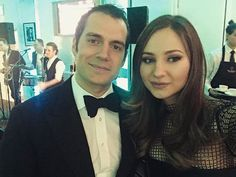 """""""Incredibly nice and humble guy. I'm a fan."""" Maria's moment with Henry Cavill http://bit.ly/1Xo4rRE  #BAFTA #London"""