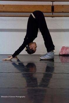 stretching // dance
