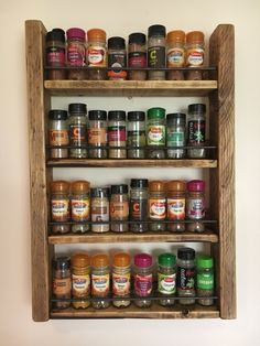 How To Build A Spice Rack How To Build A Diy Spice Rack  Pinterest  Diy Spice Rack Kitchens