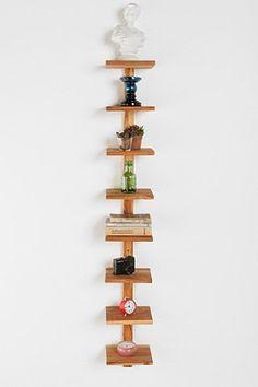 Teak Spine Wall Shelf via Urban Outfitters