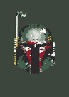 Norwegian artist and graphic designer, El Ducko, has created some Star Wars fan art that will appeal to Jedi geeks and computer nerds, all at once. He has taken his love of the characters in the Star Wars universe and turned it into bitmap beauty. Enjoy!