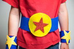 superhero crafts for kids Diy Halloween Decorations, Halloween Diy, Halloween Costumes, Crafts For Kids To Make, Art For Kids, Kids Crafts, Hero Crafts, Paper Puppets, Puppet Crafts