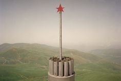 Thomas Dworzak. RUSSIA. Republic of Daghestan. July, 2000. Near the town of Andi, on the Chechen border. Memorial for a dead Russian soldier