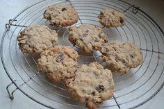 Glutenvrije chocolate chip oatmeal cookies (GF-eggfree-easily made vegan)