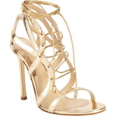 Chelsea Paris Sosa Sandal (14.425 RUB) ❤ liked on Polyvore featuring shoes, sandals, heels, scarpe, lace up sandals, open toe shoes, leather lace up shoes, open toe heel sandals and leather shoes