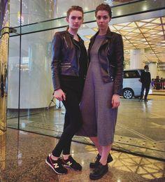 models off duty from HK fashion week   #trendy4tmrw #styleblogger #streetstyle #fashion #fashionblogger #hongkong #hongkongfashionweek