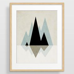 Affordable modern art prints and canvases by evesand on Etsy