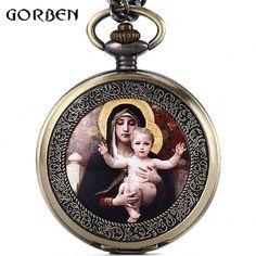 $4.75 (Buy here: https://alitems.com/g/1e8d114494ebda23ff8b16525dc3e8/?i=5&ulp=https%3A%2F%2Fwww.aliexpress.com%2Fitem%2FMary-Jesus-Christ-Easter-Series-Vintage-Pocket-Watch-Necklace-FOB-Chain-Full-Hunter-Japan-Quartz-Men%2F32692868719.html ) Mary Easter Vintage Pocket Fob Watches Necklace Chain Full Hunter Japan Quartz Pocket Watch Mens Gift Relogio De Bolso for just $4.75