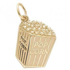 Hollywood Charm $35.50 https://www.charmnjewelry.com/gold-charms.htm  #RembrandtCharms
