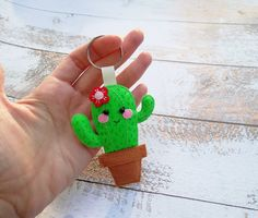 Items similar to Cute keychains Cactus decor Kawaii keychain Kawaii felt gifts Small gift ideas Keyring charms bag keyring Gifts keychains felt accessories on Etsy Felt Gifts, Diy Gifts, Cactus Keychain, Cactus Decor, Cactus Cactus, Felt Crafts Diy, Felt Patterns, Felt Dolls, Felt Ornaments