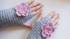 Gloves Mittens Fingerless Handmade Fingerless by BloomedFlower, $28.00