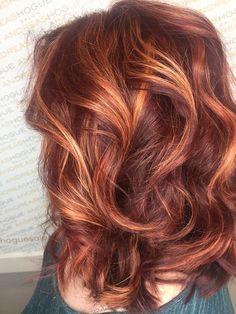Red Plum Hair Color In Conjunction With Healthy Hair Extension auburn hair styles Hair Color Auburn, Auburn Hair, Red Hair Color, Color Red, Hair Colors, Plum Hair, Balayage Hair, Auburn Balayage, Great Hair