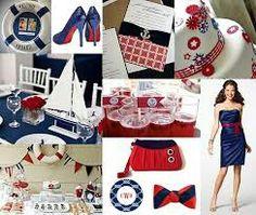 nautical/US Navy themed wedding