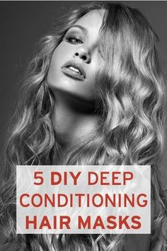 5 easy DIY deep-conditioning hair masks (using only natural ingredients from your kitchen!)