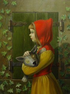 Frank Warmerdam | OIL | Little Red Riding Hood