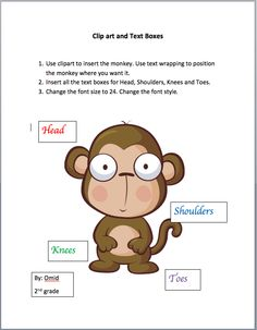 Copy, Cut and Paste Practice Exercises (in Word) from Miss Kay's ...