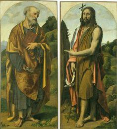Santi Pietro e Giovanni Battista.  1530-35. Gallerie dell'Accademia Venezia