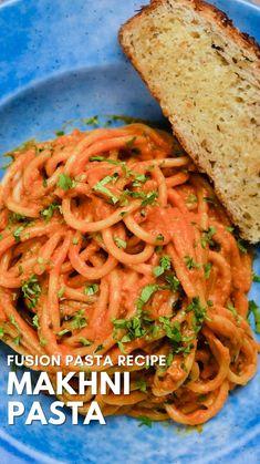 Pasta Recipes Vegetarian Indian, Easy Pasta Recipes, Indian Food Recipes, Easy Meals, Easy Cooking, Cooking Recipes, Snacks Recipes, Butter Masala Recipe, Paratha Recipes