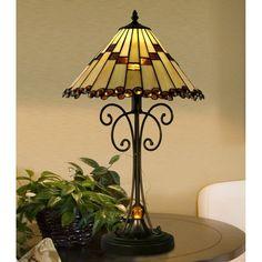 Dale Tiffany Jerome Table Lamp - STT15094LED