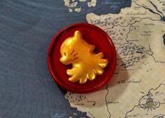 Chibi Lannister Sigil Pin Game of Thrones on Etsy, $9.81