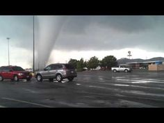 Moore tornado forming      May 20th 2013 Oklahoma EF5 - schools and homes gone