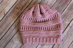 3 mL Slouchy Beanie Free Crochet Pattern