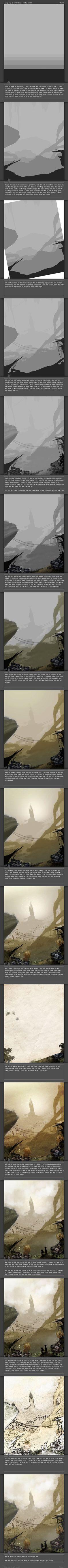 Environment Painting Tutorial by thefireis.deviantart.com on @deviantART