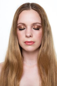 Bronze and Orange Summer Make-up Look - the finished Look using products by Charlotte Tilbury, Urban Decay, NARS, Bobbi Brown and MAC