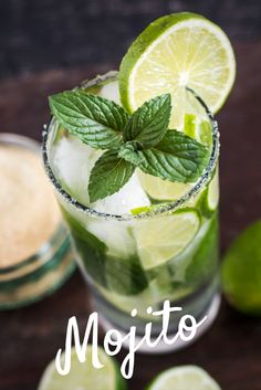 91b8fcc46b0f4 A drink everyone should know how to make  cool and refreshing Mint Mojito!