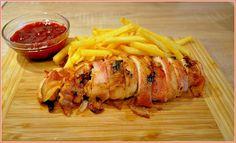 We love our kitchen: Brusnicová roláda z kuracieho mäsa
