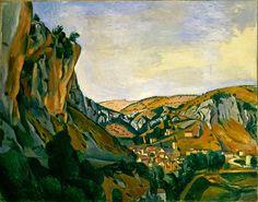 André Derain - Valley of the Lot at Vers (1912). Posimpresionismo. Óleo sobre lienzo de 73 x 92 cm. Museum of Modern Art (New York), EE.UU