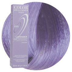 Ion Color Brilliance Brights Semi-Permanent Hair Color Lavender