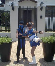 Chun Li costume kids Sub Zero Costume