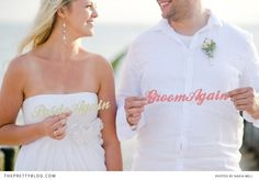 Sascha & Maria's Beach Vow Renewal | Real weddings | The Pretty Blog